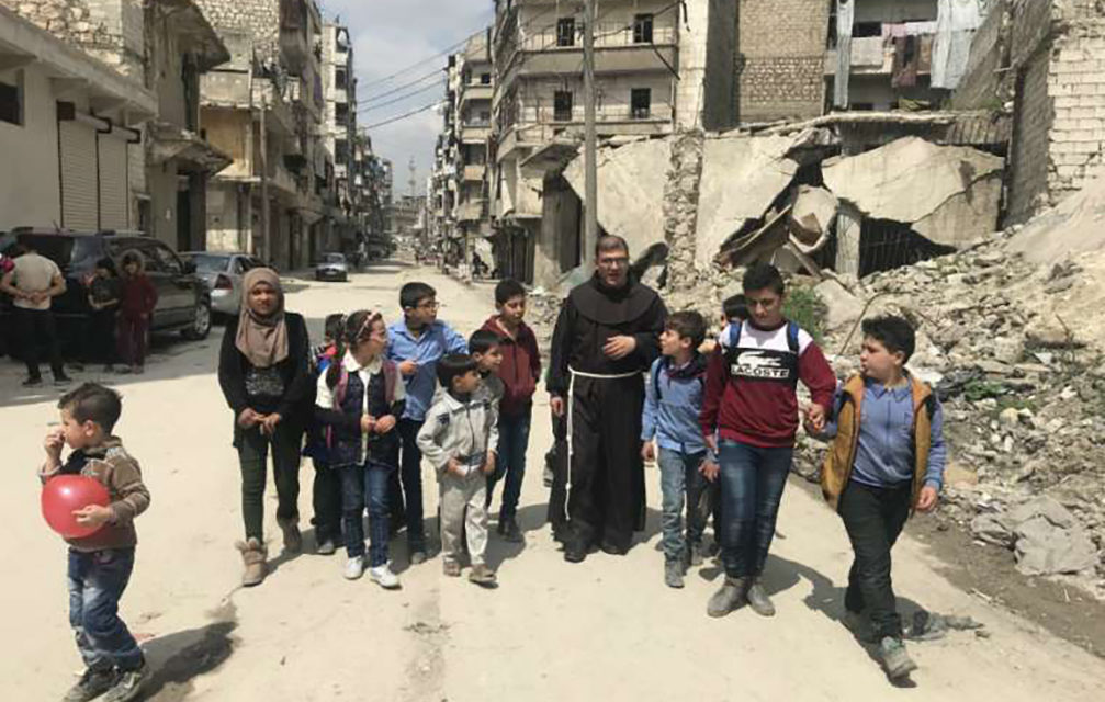How Franciscans in Syria are helping kids heal from war trauma