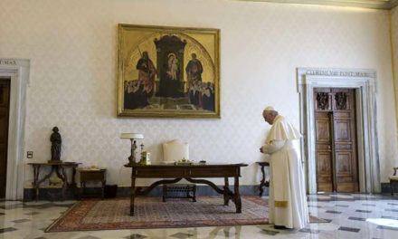 Pope Francis leads Christians in global Our Father for God's mercy amid coronavirus