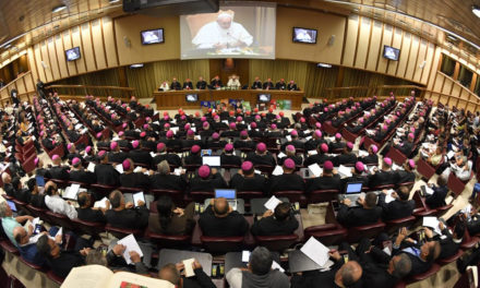 Pope Francis announces a 2022 synod on synodality