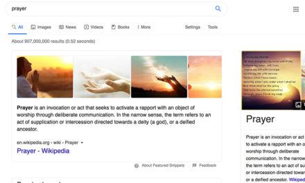 Googling 'prayer' has skyrocketed with coronavirus spread, expert says