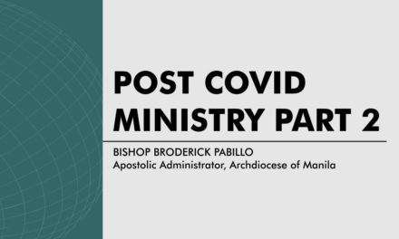 Post COVID Ministry – Part 2