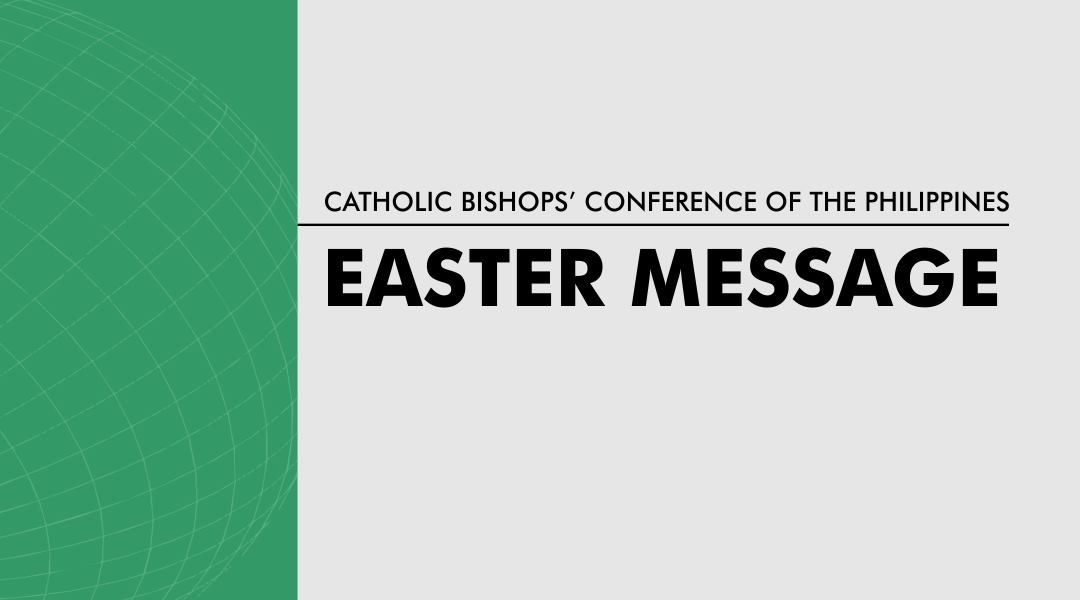 CBCP message for Easter 2020