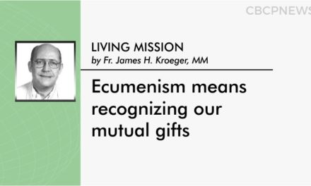 Ecumenism means recognizing our mutual gifts