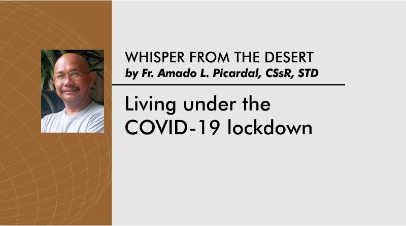 Living under the COVID-19 lockdown