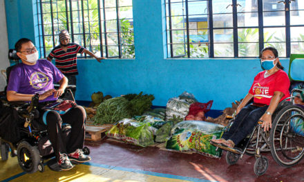 CRS supports PWDs, informal workers as lockdown continues