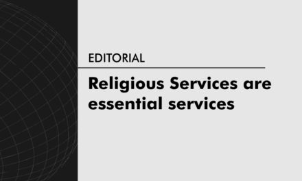 Religious Services are essential services