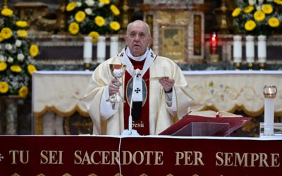 Full text: Pope Francis' homily on Divine Mercy Sunday