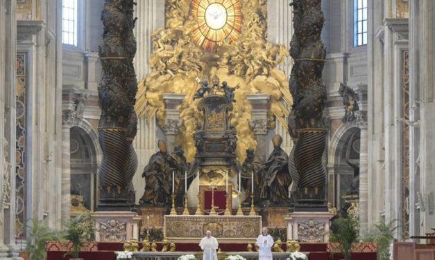 Full text: Pope Francis' Easter Urbi et Orbi Message 2020