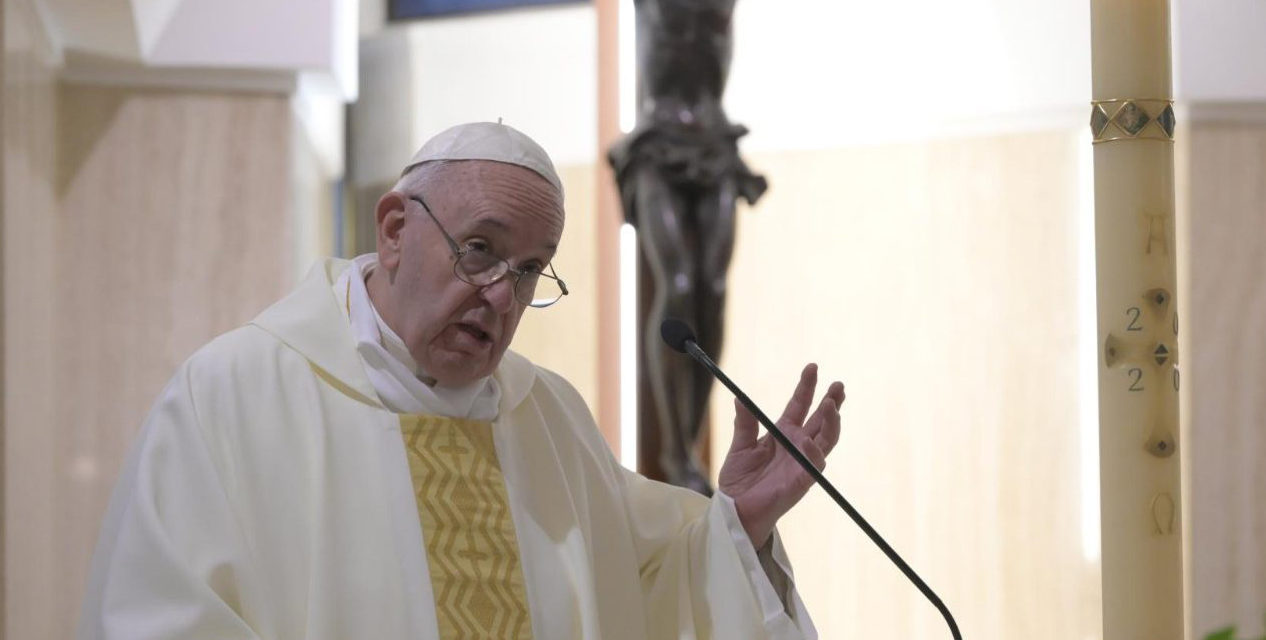 Remain faithful in uncertain times, urges Pope Francis