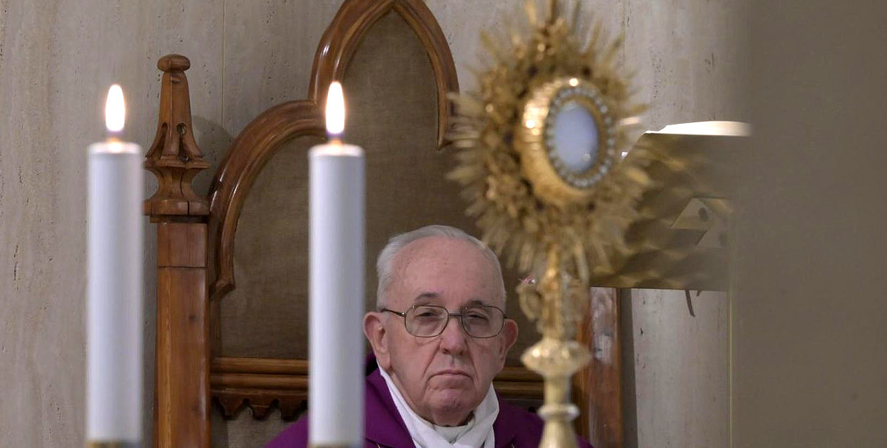 Pope creates emergency fund to tackle coronavirus in mission territories