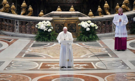 Pope Francis' Easter blessing: May Christ dispel the darkness of our suffering humanity