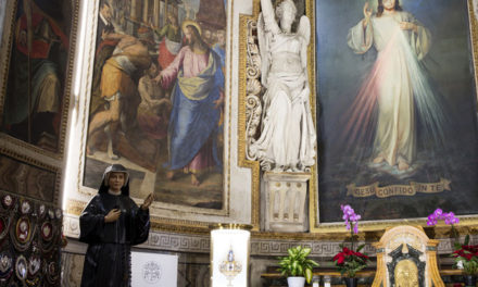 Pope to offer Divine Mercy Sunday Mass in church with St. Faustina's relics
