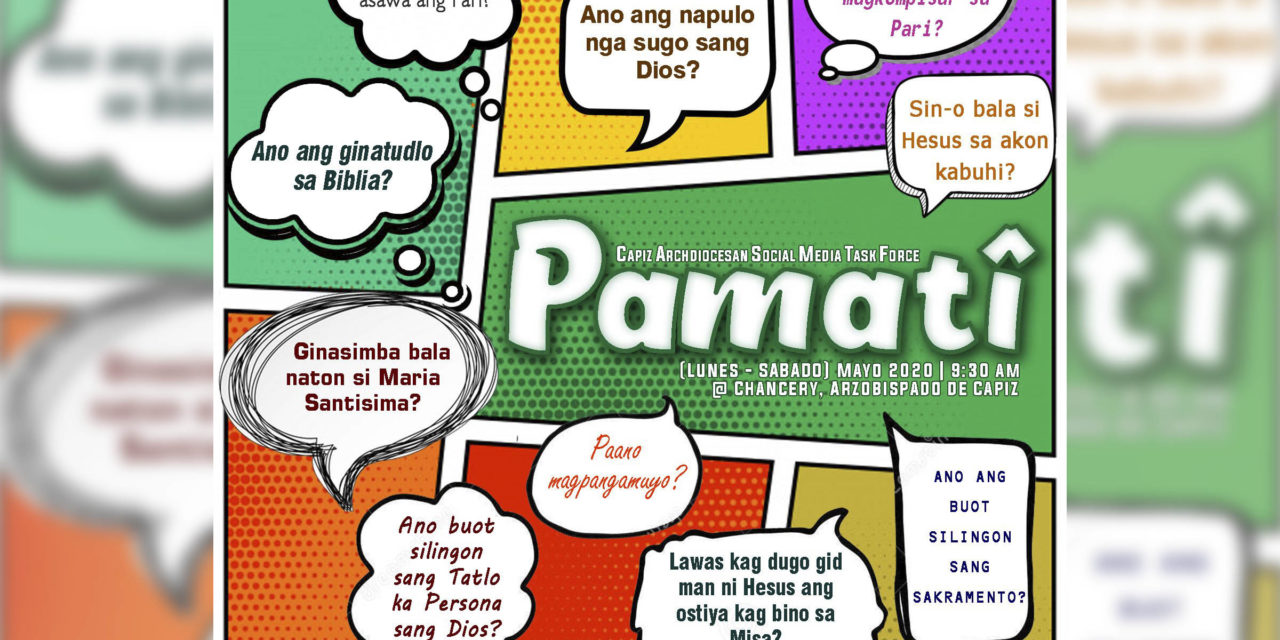 Capiz archdiocese takes its annual summer catechism program online