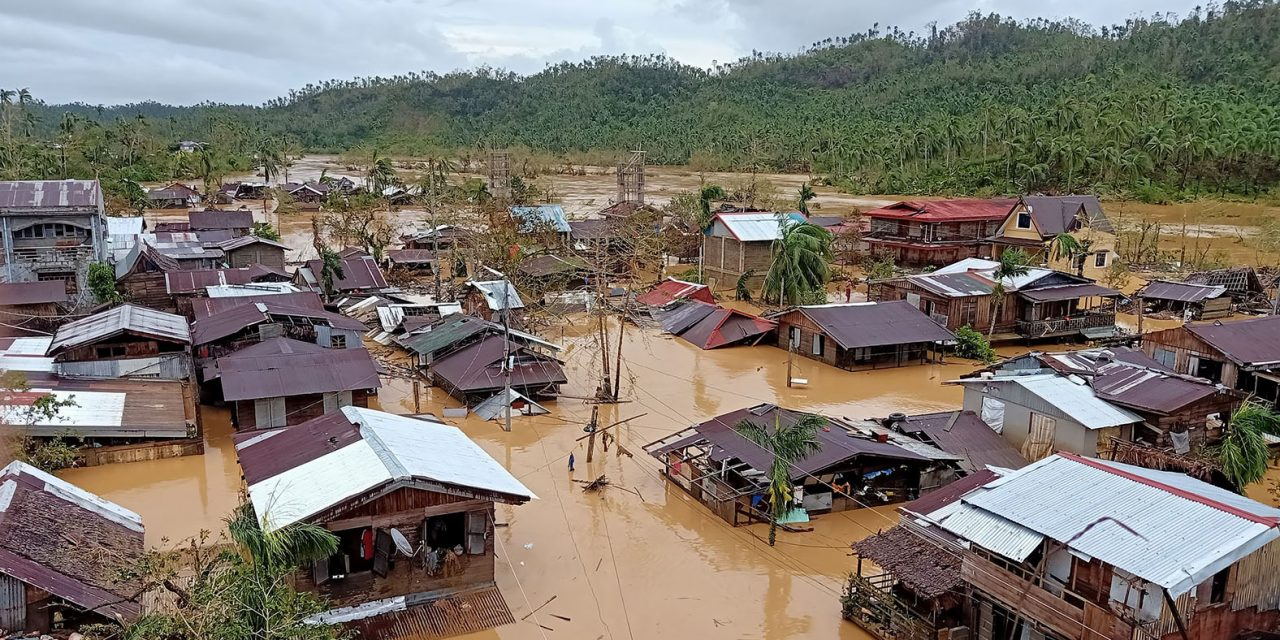 Bishop voices solidarity with typhoon victims