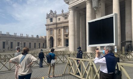Catholics rejoice as public Masses resume in Rome with safety precautions