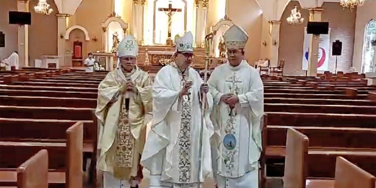 Pandemic didn't stop new bishop's ordination
