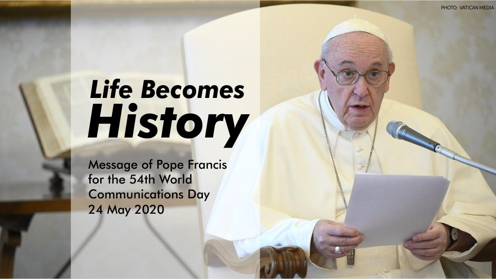 Full text: Pope Francis' message for World Communications Day 2020