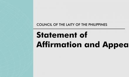 Statement of affirmation and appeal