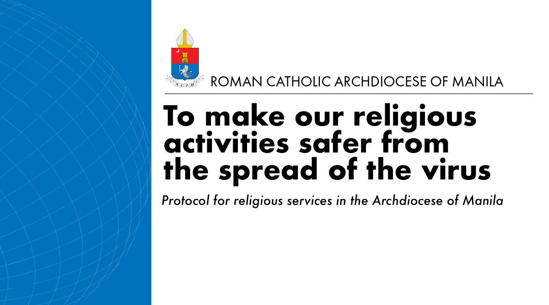 Protocol for religious services in the Archdiocese of Manila
