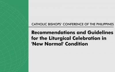 Recommendations and Guidelines for the Liturgical Celebration in 'New Normal' Condition