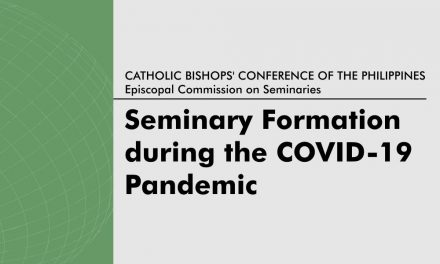 Guidelines for seminary formation during the COVID-19 pandemic