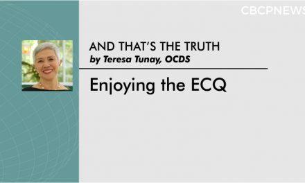 Enjoying the ECQ