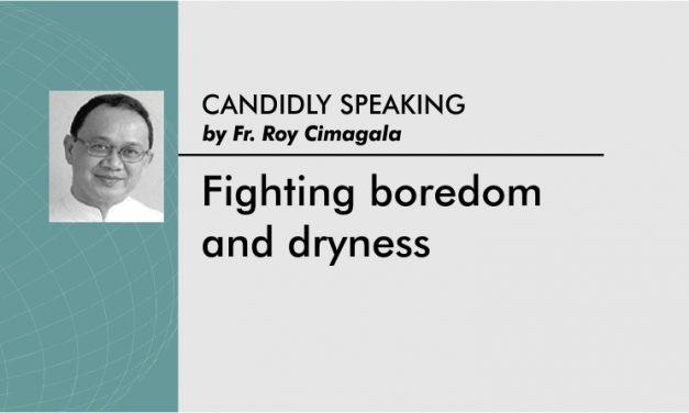 Fighting boredom and dryness