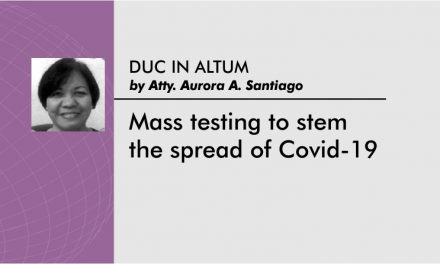 Mass testing to stem the spread of Covid-19
