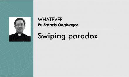 Swiping paradox