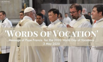 Message of Pope Francis for the 2020 World Day of Prayer for Vocations