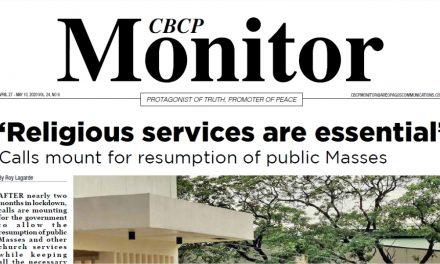 CBCP Monitor Vol 24 No 9
