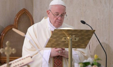 Pope Francis honors priests and doctors who have died in the coronavirus pandemic