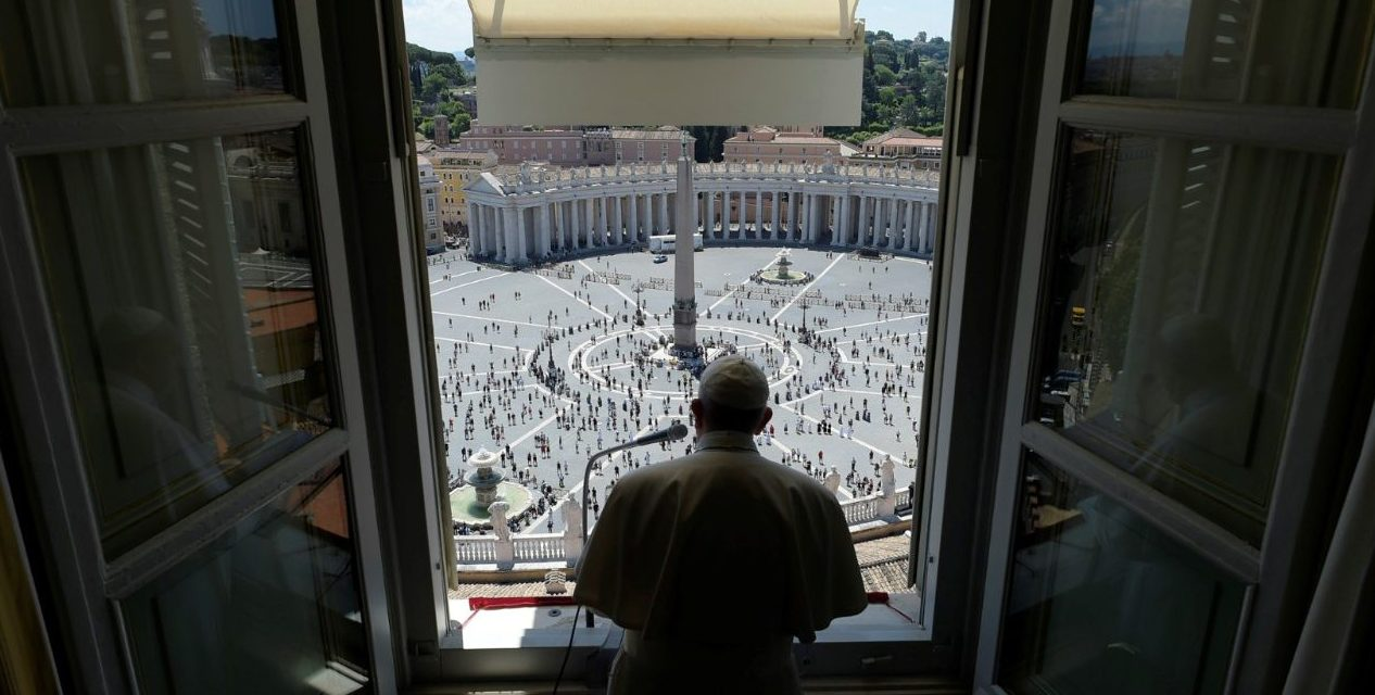 Pope Francis prays for pandemic-hit Amazon region at Regina Coeli