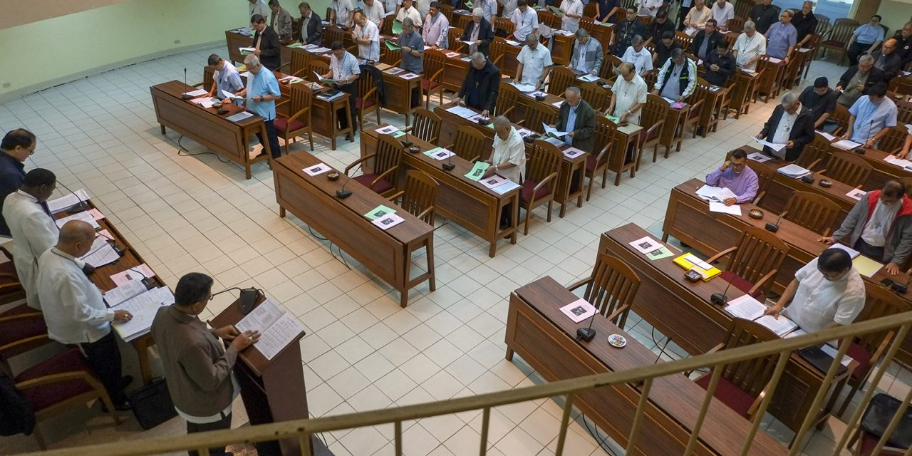 CBCP cancels plenary assembly for the first time