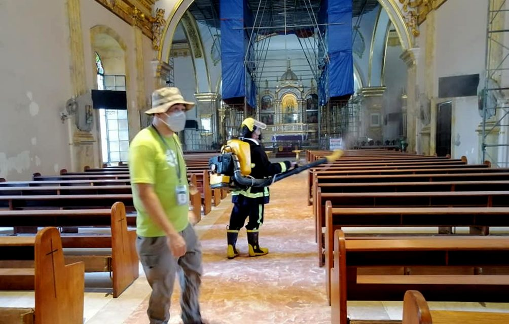 Parishes to get churchgoers info for contact tracing