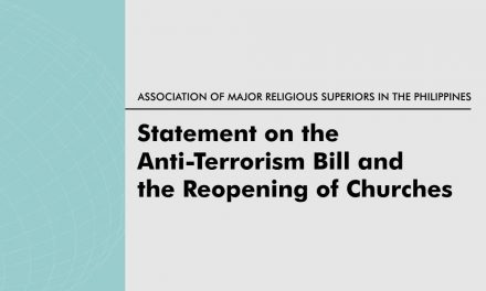 AMRSP Statement on the Anti-Terrorism Bill and the Reopening of Churches