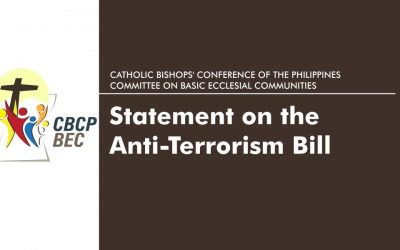 CBCP-BEC Statement on the Anti-Terrorism Bill
