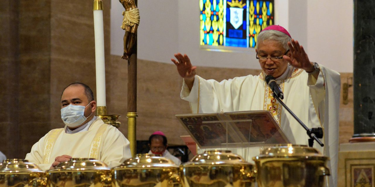 Manila bishop: Holiness requires working for justice