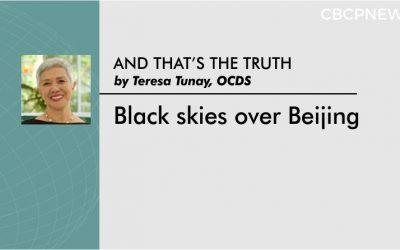 Black skies over Beijing