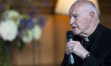 Alleged Theodore McCarrick victim says he is helping fact-check abuse dossier