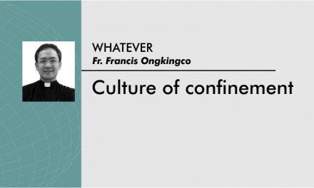 Culture of confinement