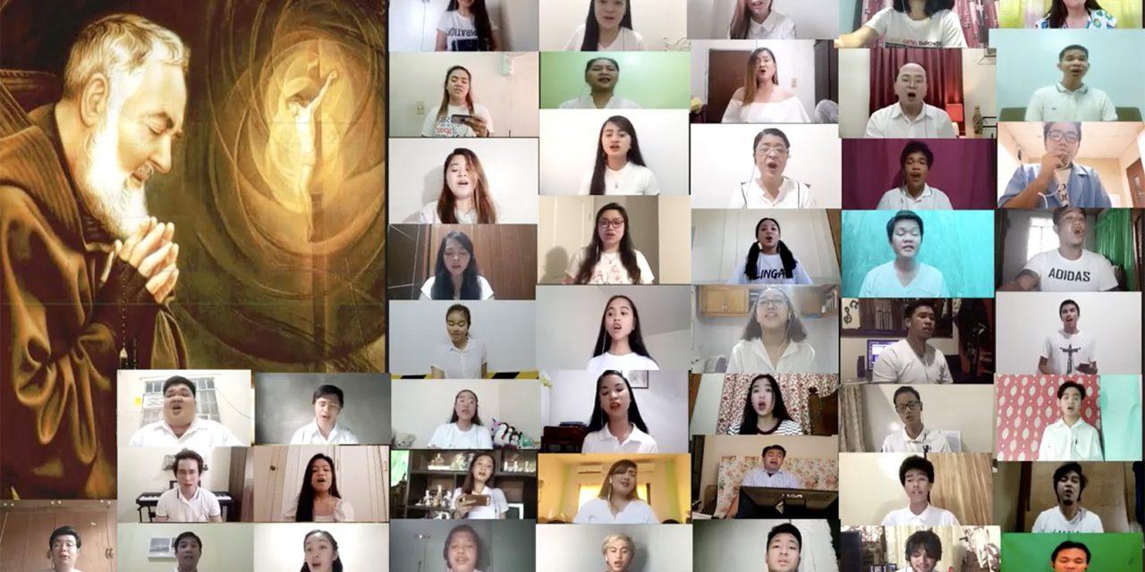 WATCH: Church chorale sings Padre Pio's prayer to bring hope
