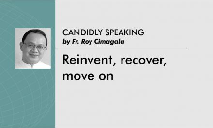 Reinvent, recover, move on