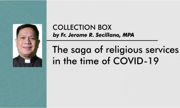 The saga of religious services in the time of COVID-19