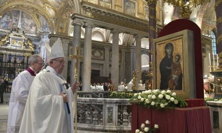 Pope Francis adds 3 titles to Catholic litany of the Blessed Virgin Mary