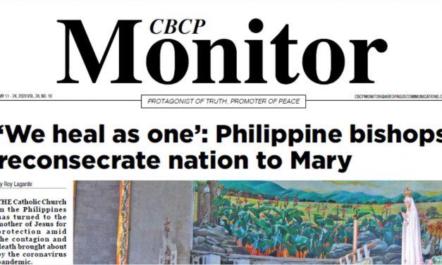 CBCP Monitor Vol 24 No 10