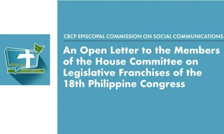 Open letter to the members of the House Committee on Legislative Franchises