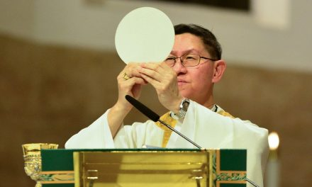 Pope names Cardinal Tagle to another Vatican post