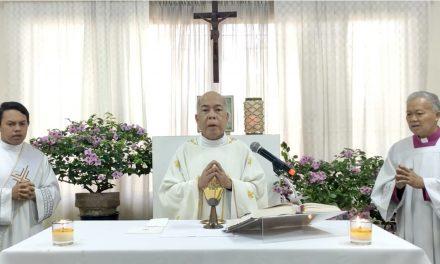 Archbishop Valles celebrates first Mass after mild stroke