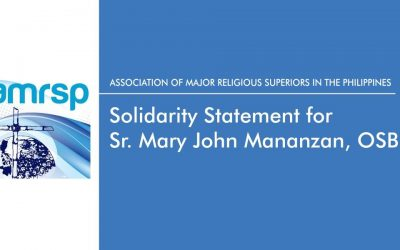 AMRSP solidarity statement for Sr. Mary John Mananzan
